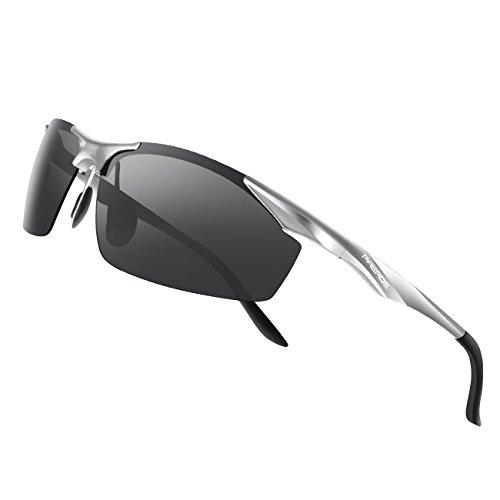 PAERDE Men's Sports Style Polarized Sunglasses for Men Driving Fishing Cycling Golf Runnin ...