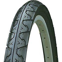 Kenda Big City Slick Wire Bead Bicycle Tire, Blackwall, 26 x 1.95″