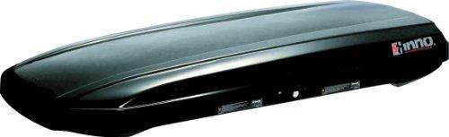 INNO BRA1150BK Shadow 15 Low Profile Cargo Box – 11 Cubic FT (Gloss Black)