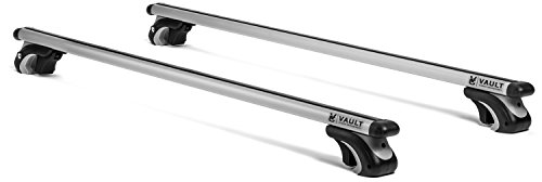 "54"" Universal Locking Roof Rack Crossbars by Vault – Carry Your Canoe, Kayak, & Cargo  ..."