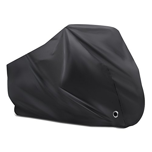 Puroma Bike Cover Outdoor Waterproof Bicycle Covers Rain Sun UV Dust Wind Proof with Lock Hole f ...