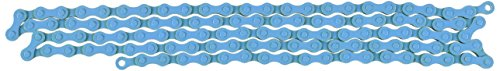 KMC Z410 Bicycle Chain (1-Speed, 1/2 x 1/8-Inch, 112L, Blue)