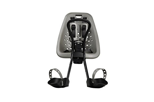 Yepp Mini Bicycle Child Seat, Silver