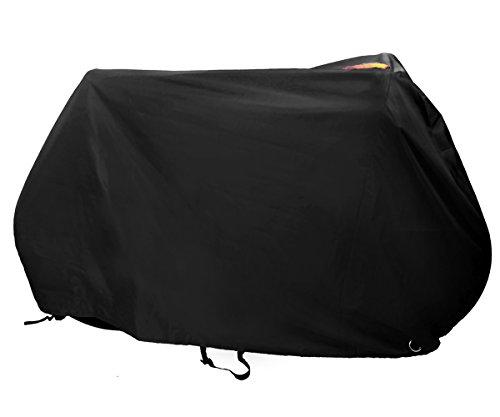 Kotivie Black Lockable Sun Protection Waterproof Ripstop Bicycle Cover Enhanced Double Buckle St ...