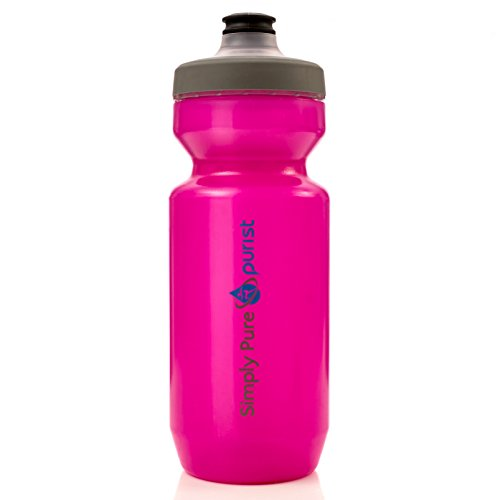 Simply Pure Hydration – Purist Water Bottle by Specialized Bikes (Watergate Cap, Transluce ...