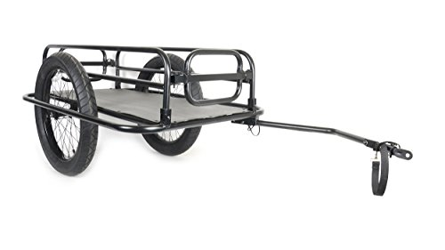 Cycle Force Trail-Monster Cargo Trailer, Matte Black