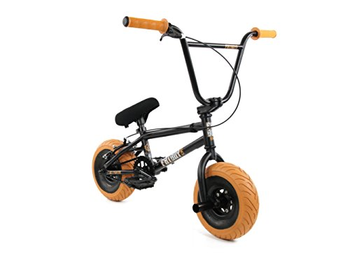 FatBoy Mini BMX Bicycle Freestyle Bike, Black