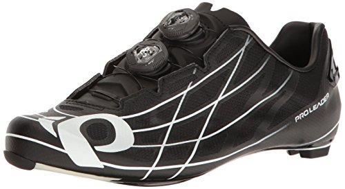 Pearl iZUMi Pro Leader III Cycling Shoe, Black/White, 44.5 EU/10.5 D US