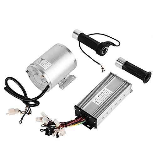 Mophorn 1800W Electric Brushless DC Motor Kit 48V High Speed Brushless Motor with 32A Speed Cont ...