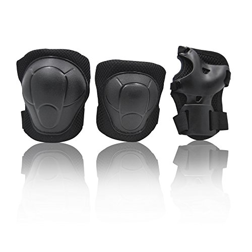 eNilecor Kid's Knee Pads Elbow Pads Wrist Guards for Inline & Roller Skating Skateboar ...
