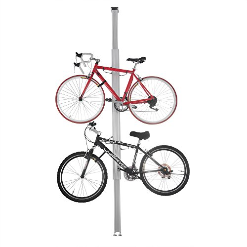 RAD Cycle Products Aluminum Bike Stand Bicycle Rack Storage or Display for Two Bicycles