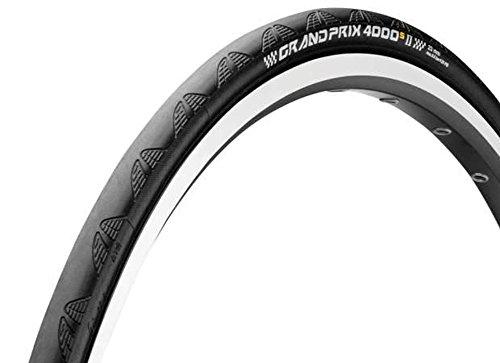 Continental Grand Prix 4000 S II Road Clincher, Black, 700 x 23C