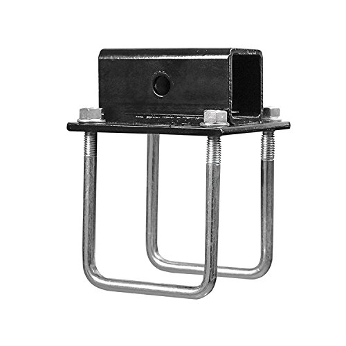 RV Square Bumper for Bike Cargo Carrier Hitch Receiver Adapter Mount on RV Travel Trailer Coachm ...