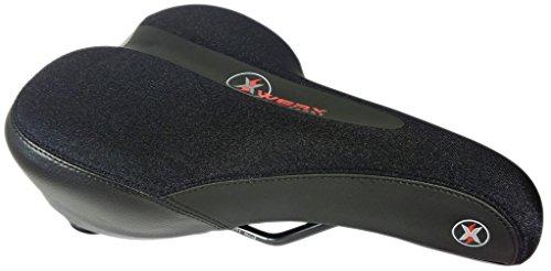 XWERX SX SPORT COMFORT ES LYCRA Hybrid / Road / Mountain Bicycle Seat – Supportive GEL Foa ...