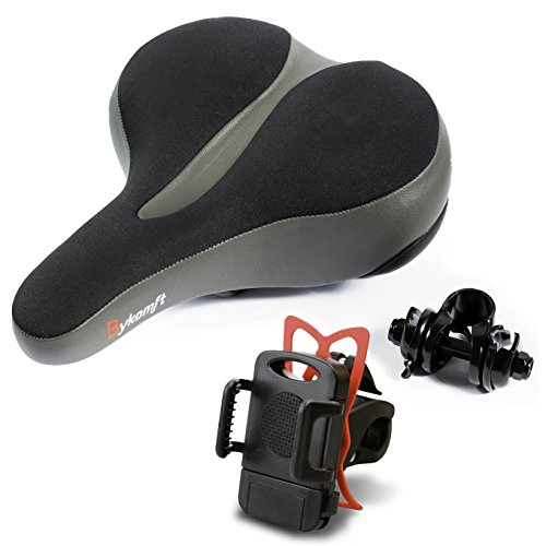 Premium Extra Soft Bike Seat For Men Comfort – Gel Cushion Dual Spring Designed Suspension ...