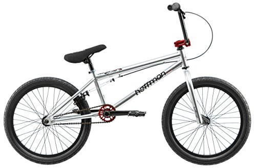 Hoffman Cirrus Boy's BMX Bike Silver, 20″ Wheel