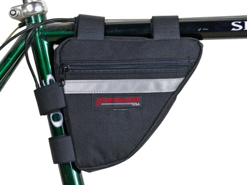 Bushwhacker Ketchum Black – Bicycle Frame Bag Cycling Triangle Pack Bike Under Seat Top Tu ...