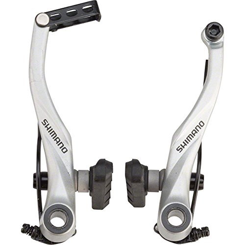 Shimano Mountain Bicycle V-Brake – BR-T4000 (Silver – Front)