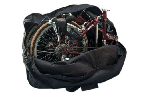 StillCool Bike Travel Bag Case Box Thick Bicycle Folding Carry Bag Pouch,Bike Transport Case for ...