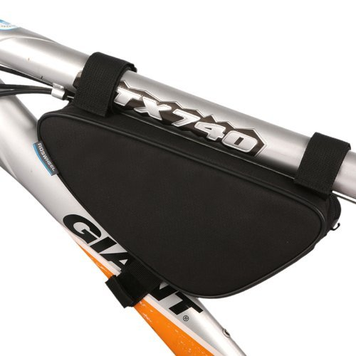 Ellen Tool Tube Bike Pouch Bicycle Bag Water Resistant Polyester Triangle Front Pouch Kit for Ea ...