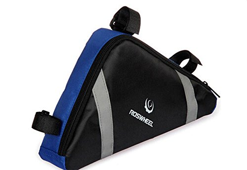BicycleStore® Waterproof Bike Bicycle PVC Front Tube Triangle Frame Bag Outdoor Bicycle Accessor ...