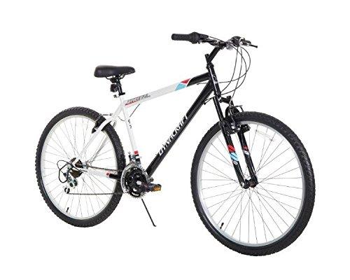 Dynacraft Men's 26″ 21 Speed Alpine Eagle Bike, 18.5″/One Size, Black/White