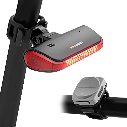 Nubeam NB-600 USB Rechargeable Bicycle Taillight – Wireless Anti-theft Alarm, Directional  ...