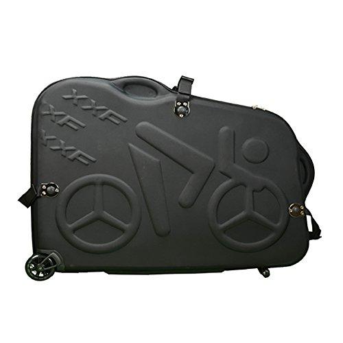 Hepburn's EVA Bike Travel Case for 26″/700C/27.5″ Mountain Road Bicycle Travel ...