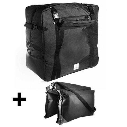 Vincita Sightseer the Foldable Travel Set for folding bikes 20″ wheel and smaller