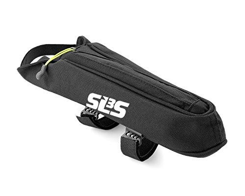 SLS3 Small AERO Bike Bag | Top Tube Bicycle Frame Bag | Adjustable Straps | Stable and Secure |  ...