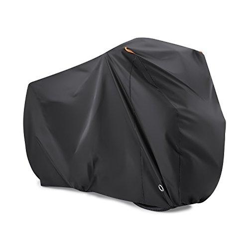 Bike Cover for 2 Bikes, Beeway 190T Nylon Waterproof Bicycle Cover Anti Dust Rain UV Protection  ...