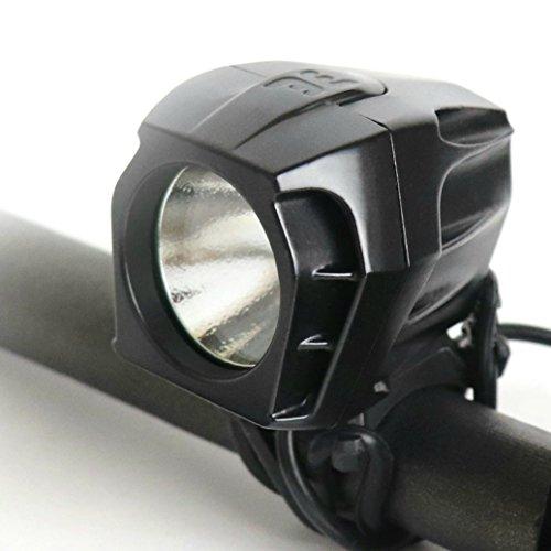 Bright Eyes FULLY WATERPROOF 1600 lumen Rechargeable Mountain, Road Bike Headlight, 6400mAh batt ...