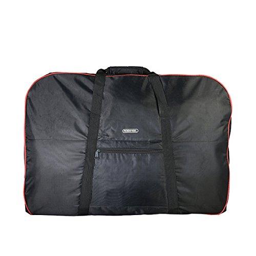 Triwonder Soft Bike Travel Cases Bicycle Carrying Case Transport Cover Bag Carrier Bag (for 14&# ...