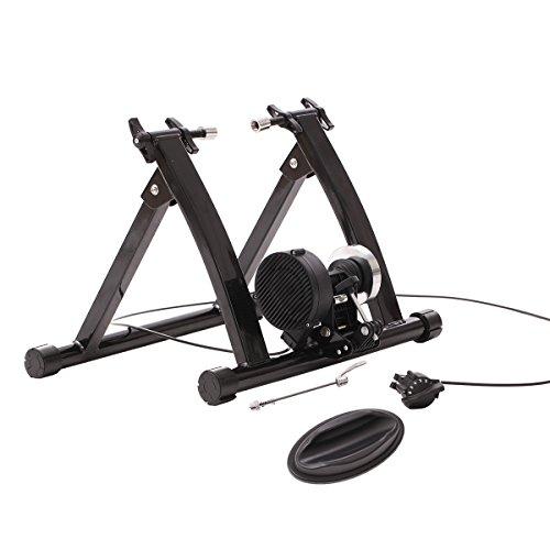 URSTAR Magnet Steel Bike Bicycle Indoor Exercise Trainer Stand Quick Release Skewer with Flywhee ...