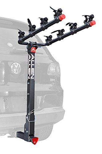 Allen Sports Deluxe Locking Quick Release 4-Bike Carrier for 2″ Hitch