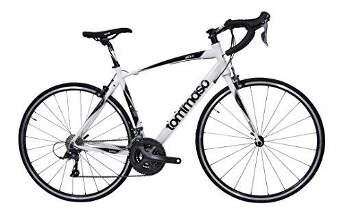 Tommaso Imola Road Bike Shimano R2000 Claris – White – Medium
