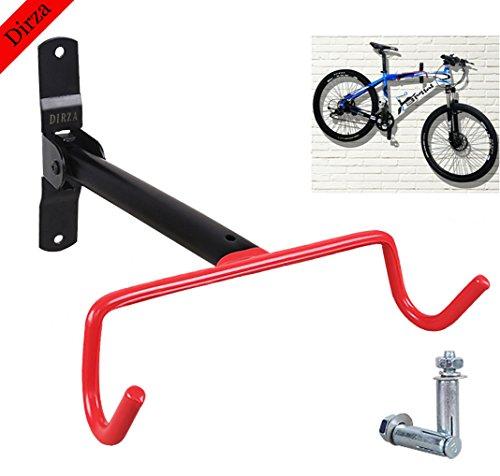 Wall Mount Bike Hanger Dirza Foldable Garage Bicycle Bike Rack Storage System for Garage Shed wi ...