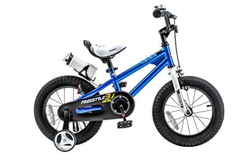 Royalbaby RB16B-6B BMX Freestyle Kids Bike, Boy's Bikes and Girl's Bikes with traini ...