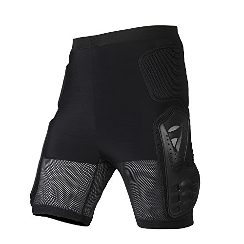 Ohmotor Motorcycle Bicycle Ski Protective Armour Pants, Heavy Duty Body Armor Pads Guard Protect ...