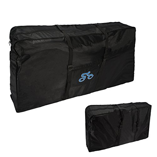Folding Bike Bag , LOPEZ 26-inch Cycling Bicycle Transport Travel Carry Bag Carrier Storage Pouc ...