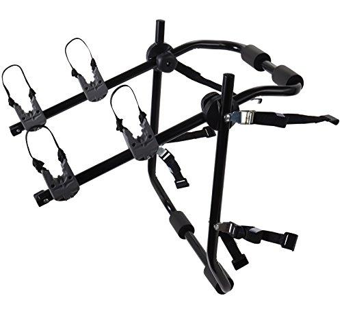 2-Bike Rack Trunk Mount – Deluxe Bicycle Carrier for most Sedans / Hatchbacks / Minivans a ...