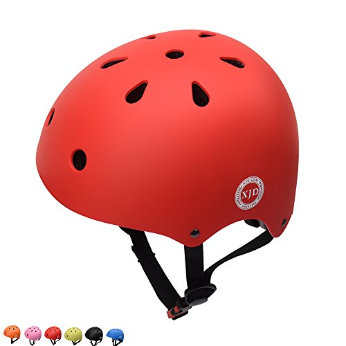 XJD Kids Cycling Helmet, Impact Resistance Ventilation for Multi-Sports, Roller Bicycle BMX Bike ...