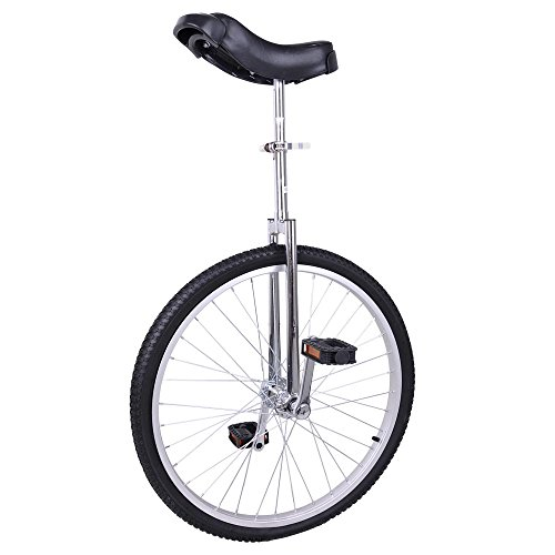 AW 24″ Inch Wheel Unicycle Leakproof Butyl Tire Wheel Cycling Outdoor Sports Fitness Exerc ...