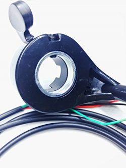 """Universal 7/8"""" Thumb Throttle Assembly For E-Bike Electric Bike Scooter 3 Wires"""