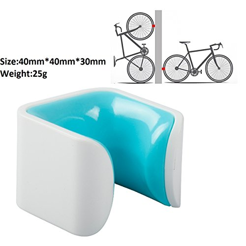 Bicycle Parking Rack Stand Storage on Wall/Floor for Road Bike and Fixed Gear,Small and Creative ...