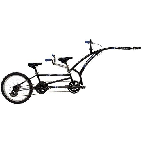 Adams Trail-A-Bike Tandem, Black