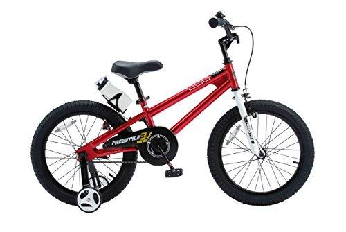 RoyalBaby BMX Freestyle Kids Bike, Boy's Bikes and Girl's Bikes with training wheels ...