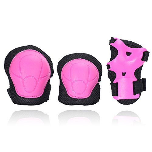 eNilecor Kid's Knee Pads Elbow Pads Wrist Guards for Skateboarding Cycling Inline Skating  ...