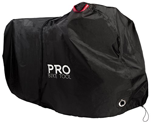 Pro Bike Cover for Outdoor Bicycle Storage – XXL 2 to 3 bikes – Heavy Duty Ripstop M ...