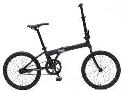 Retrospec Bicycles Speck Folding Single-Speed Bicycle, Matte Black, 20-Inch